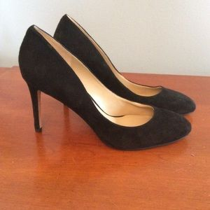 Ann Taylor suede pumps-never worn